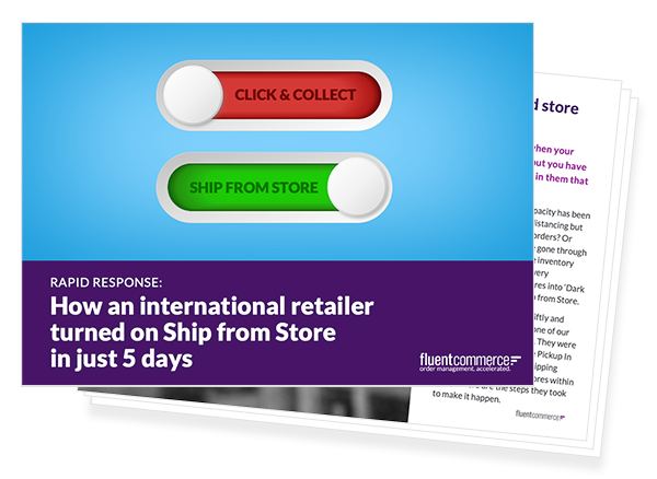 Click and Collect to Ship from Store in 5 days