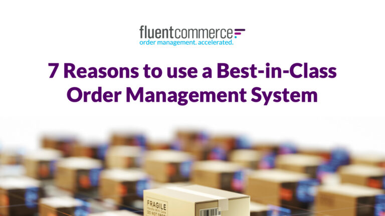 7 Reasons to use a Best-in-Class Order Management System eBook