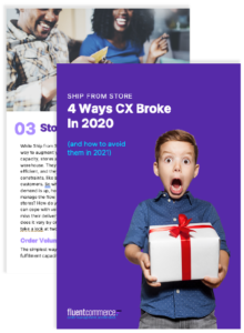 eBook Cover: Ship from Store: 4 Ways CX Broke in 2020
