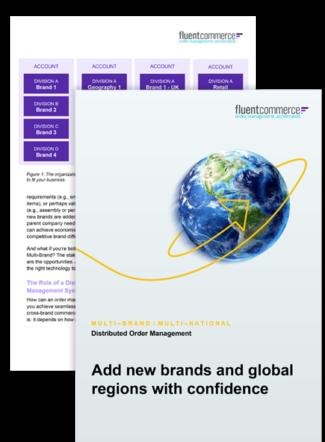Multi-Brand / Multi-National Distributed Order Management eBook