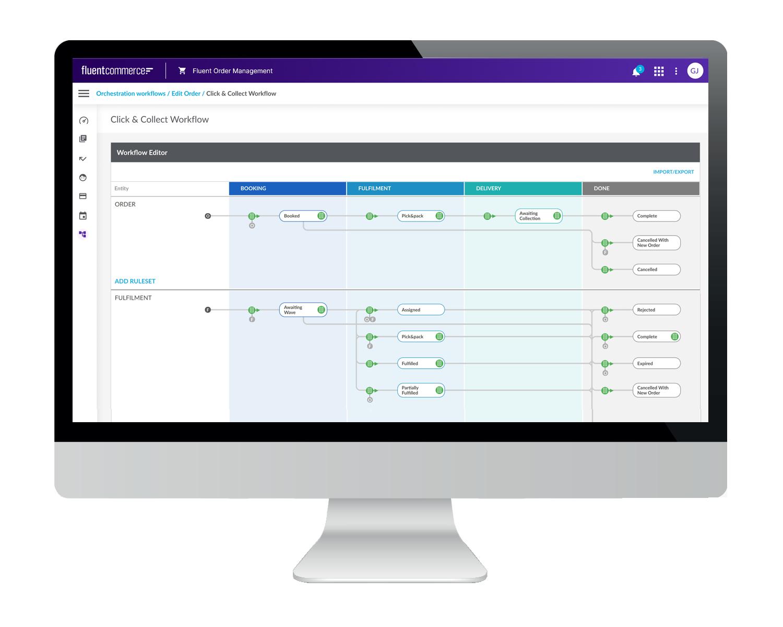 Fluent Order Management Desktop