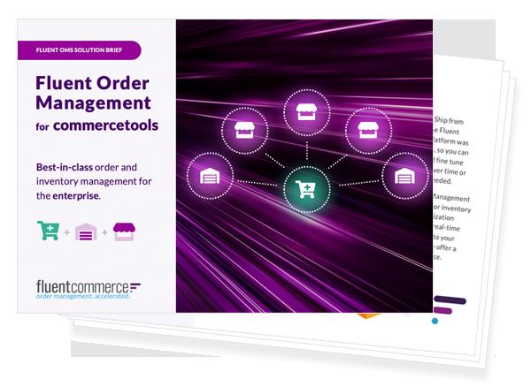 Fluent Order Management for commercetools