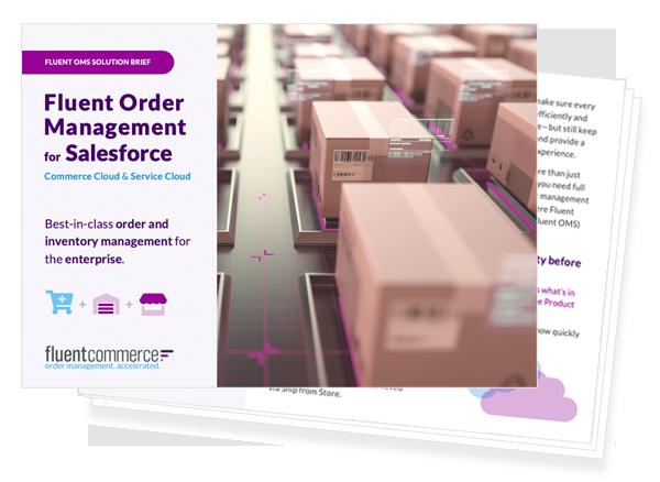 Fluent Order Management for Salesforce